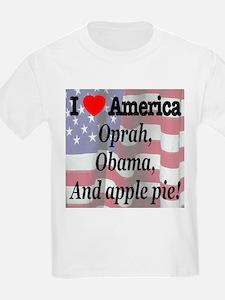 Oprah, Obama and apple pie! T-Shirt