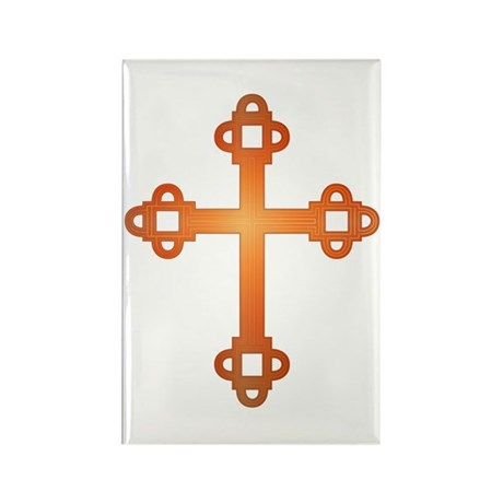 Labyrinth Cross Rectangle Magnet (100 pack)