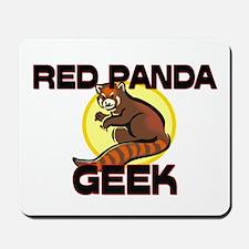 Red Panda Geek Mousepad