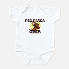 Red Panda Geek Infant Bodysuit