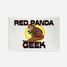 Red-Eyed Tree Frog Geek Rectangle Magnet