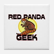 Red-Eyed Tree Frog Geek Tile Coaster