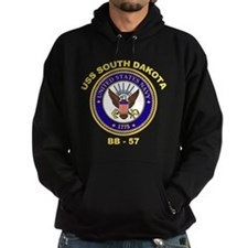 USS South Dakota BB-57 Hoodie