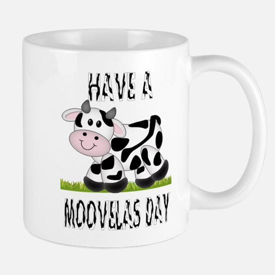 Cute Cow Moovalas day Mug