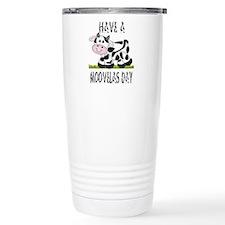 Cute Cow Moovalas day Travel Mug