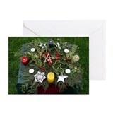 Yule holiday Greeting Cards (10 Pack)
