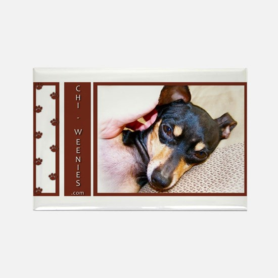 Chi-Weenies.com Rectangle Magnet