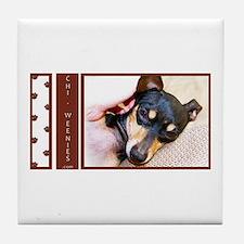 Chi-Weenies.com Tile Coaster