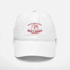 North High School Bulldogs Baseball Baseball Cap