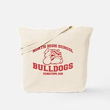 North High School Bulldogs Tote Bag