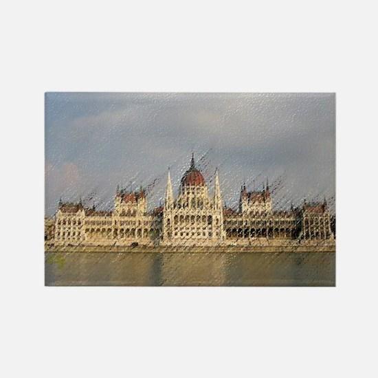HUNGARY BUDAPEST / Rectangle Magnet