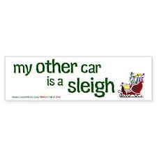My Other Car is a Sleigh Bumpersticker