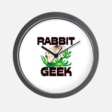 Rabbit Geek Wall Clock