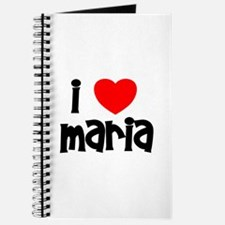 I Love Maria Journal
