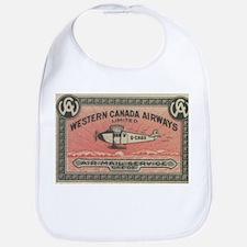 Western Canada Airways label Bib
