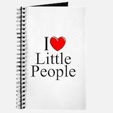 """""""I Love (Heart) Little People"""" Journal"""