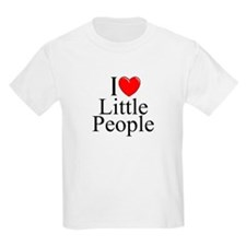 """I Love (Heart) Little People"" T-Shirt"