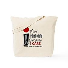 I Wear Grey Because I Care 9 Tote Bag