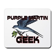 Purple Martin Geek Mousepad