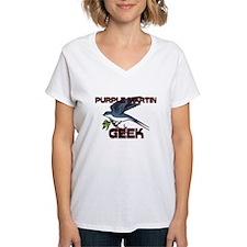 Purple Martin Geek Shirt