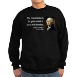 George Washington 4 Sweatshirt (dark)