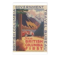 See BC First Postcards (Package of 8)