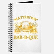 Matthews Family Name Vintage Barbeque Recipe Book