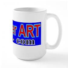 RogerART.com logo  Mug