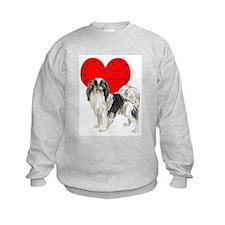 Chin Heart Sweatshirt