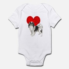 Chin Heart Infant Bodysuit