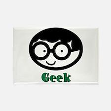 Geek Boy Rectangle Magnet