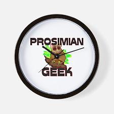 Prosimian Geek Wall Clock