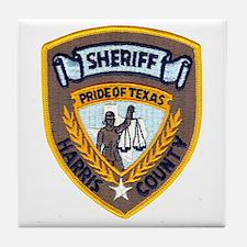 Harris County Sheriff Tile Coaster