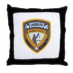 Harris County Sheriff Throw Pillow