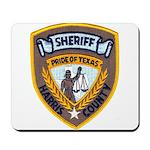 Harris County Sheriff Mousepad