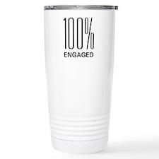 100% Engaged Travel Mug