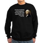 George Washington 12 Sweatshirt (dark)