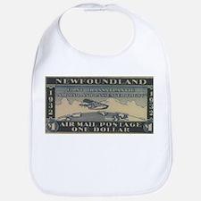 Newfoundland $1 airmail Bib