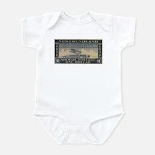 Newfoundland $1 airmail Infant Bodysuit