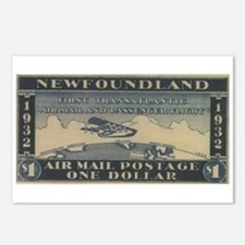 Newfoundland $1 airmail Postcards (Package of 8)