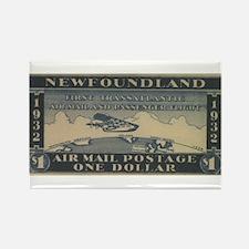 Newfoundland $1 airmail Rectangle Magnet