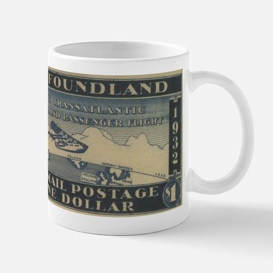 Newfoundland $1 airmail Mug