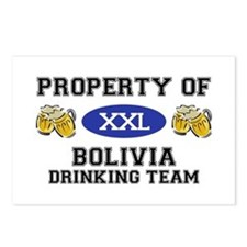 Property of Bolivia Drinking Team Postcards (Packa