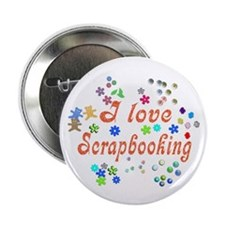"Scrapbooking 2.25"" Button"