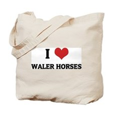 I Love Waler Horses Tote Bag