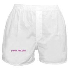 Future Mrs. Fazio Boxer Shorts
