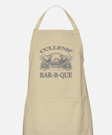 Cullen Family Name Vintage Barbeque BBQ Apron