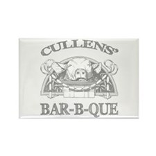 Cullen Family Name Vintage Barbeque Rectangle Magn