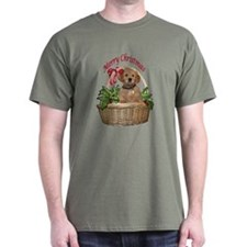 puppy in holly basket T-Shirt