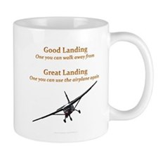 Good Landing/Great Landing Small Mug